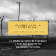 Pacto europeo de migración y asilo