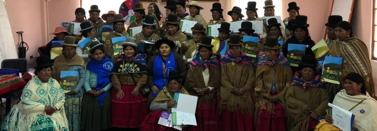 mujeres campesinas, Bolivia