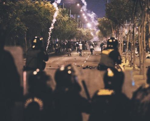 derechos humanos, manifestación Perú