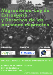 Afiche migraciones_extranjería