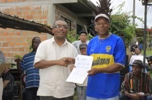 Alianza por la Solidaridad entrega casas Buenaventura 2