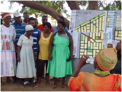 Proyecto por los derechos globales y lucha contra los desalojos en Namibia