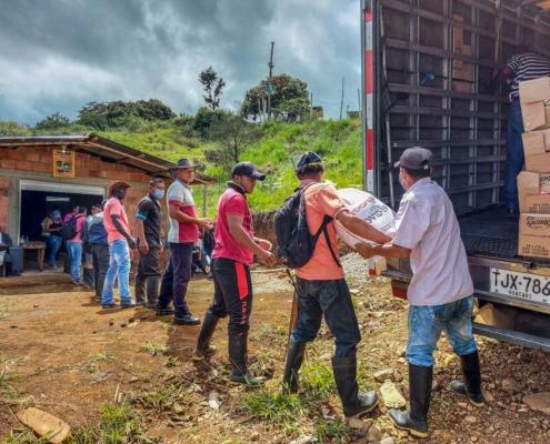 Colombia apoyo contra la covid-19