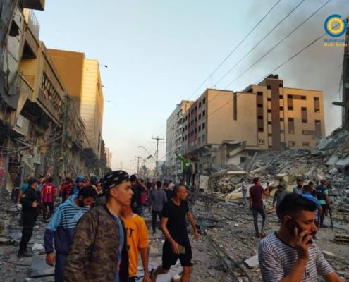 violencia en Gaza 2021