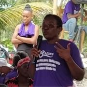 Mujeres rurales en Haití