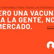 Vacunas asequibles covid 19 alianza por la solidaridad