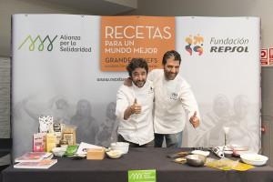 Paco Roncero y Diego Guerrero, algunos de nuestros chefs solidarios