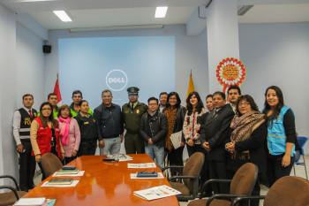 Reunión Alcalde Independencia