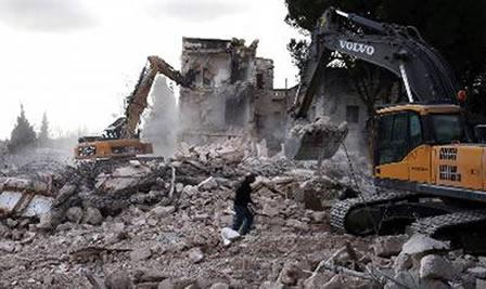 Demoliciones israelíes en Palestina