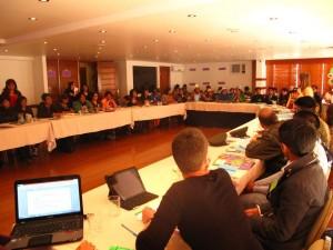 Taller identificación convenio Bolivia