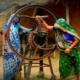 mujer, India, empleo sostenible