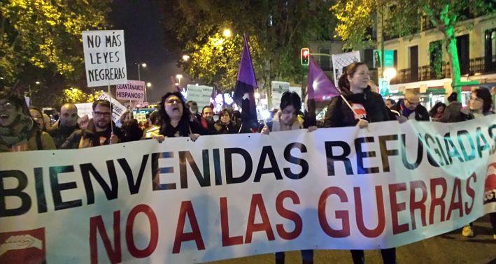 manifestacion migrantes